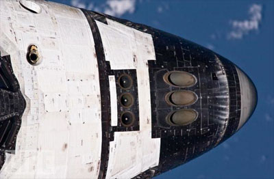 space shuttle nose - photo #22