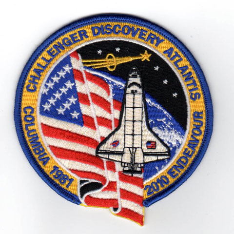 My own Space Shuttle Commemorative Patch - collectSPACE ...