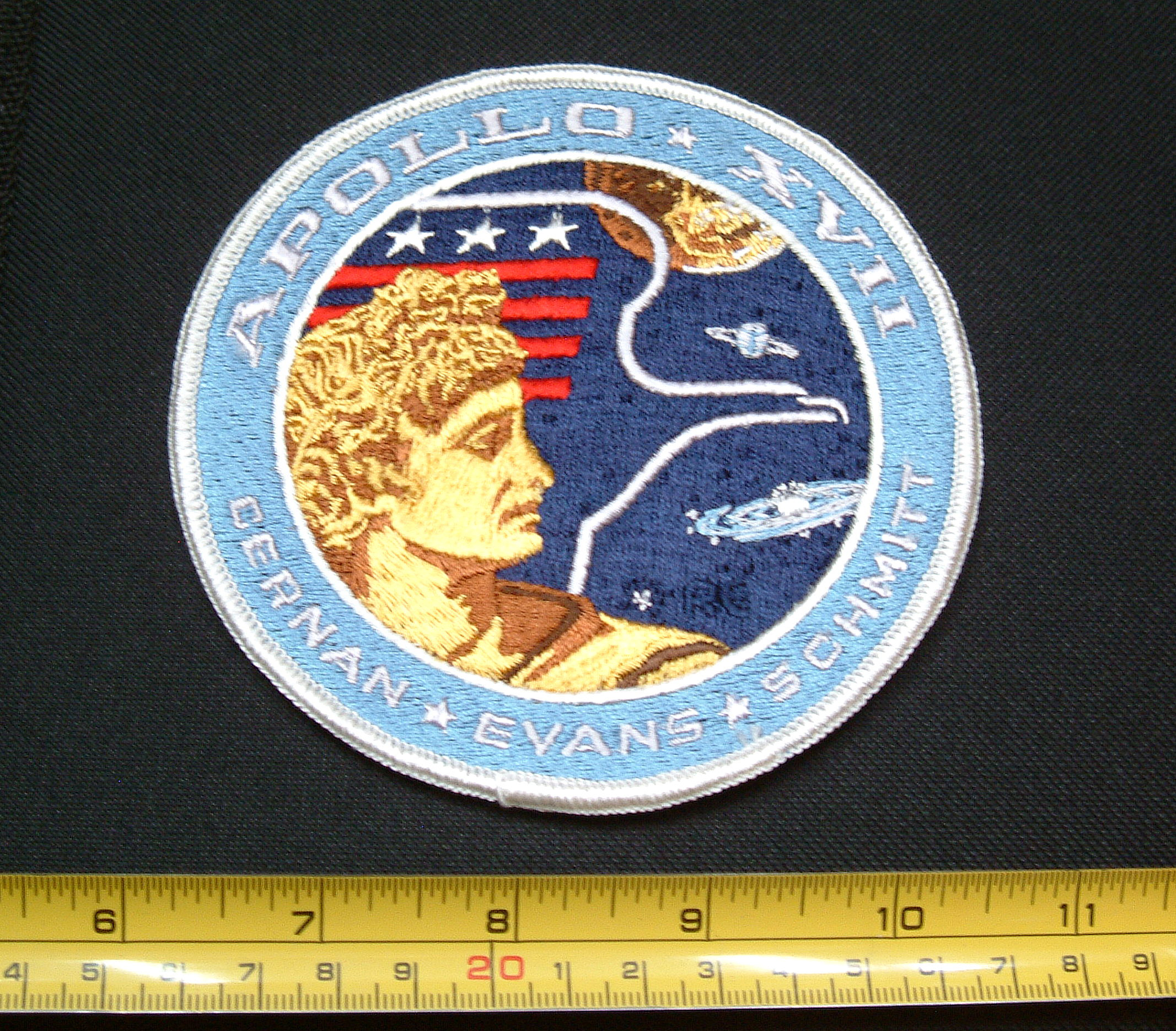 Apollo 17 Patch - Pics about space