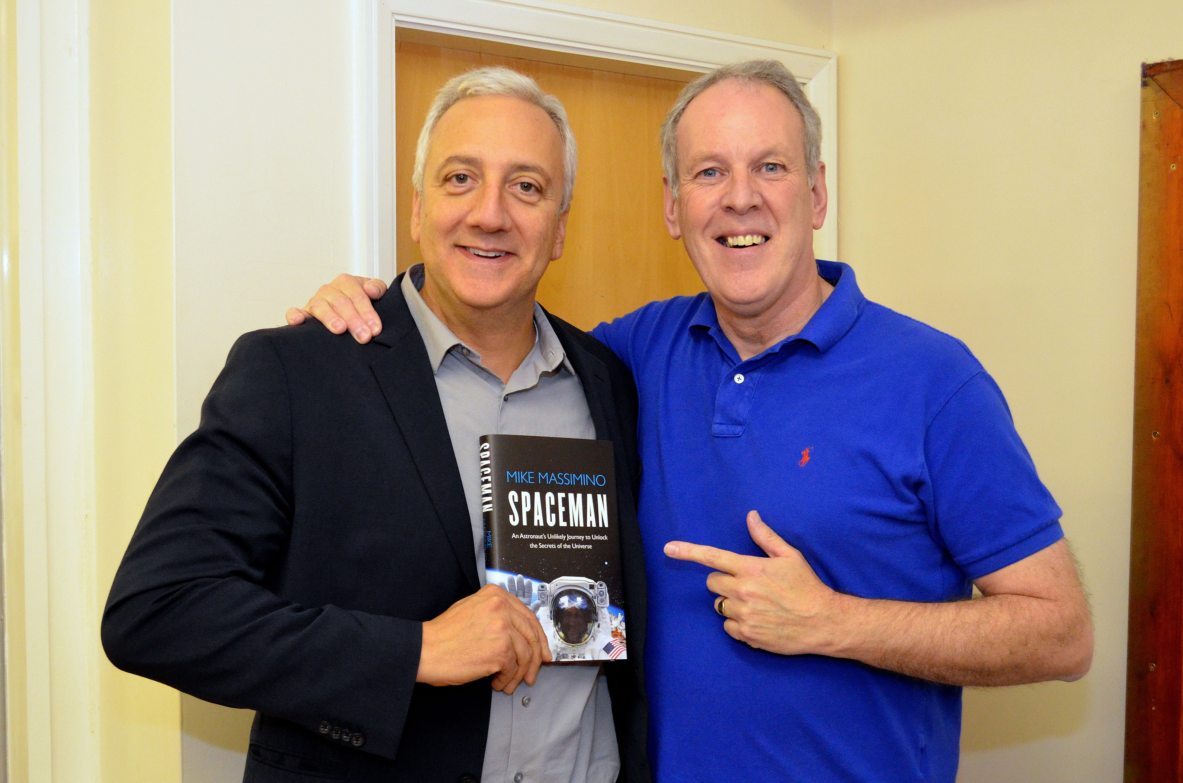 Spaceman mike massimino