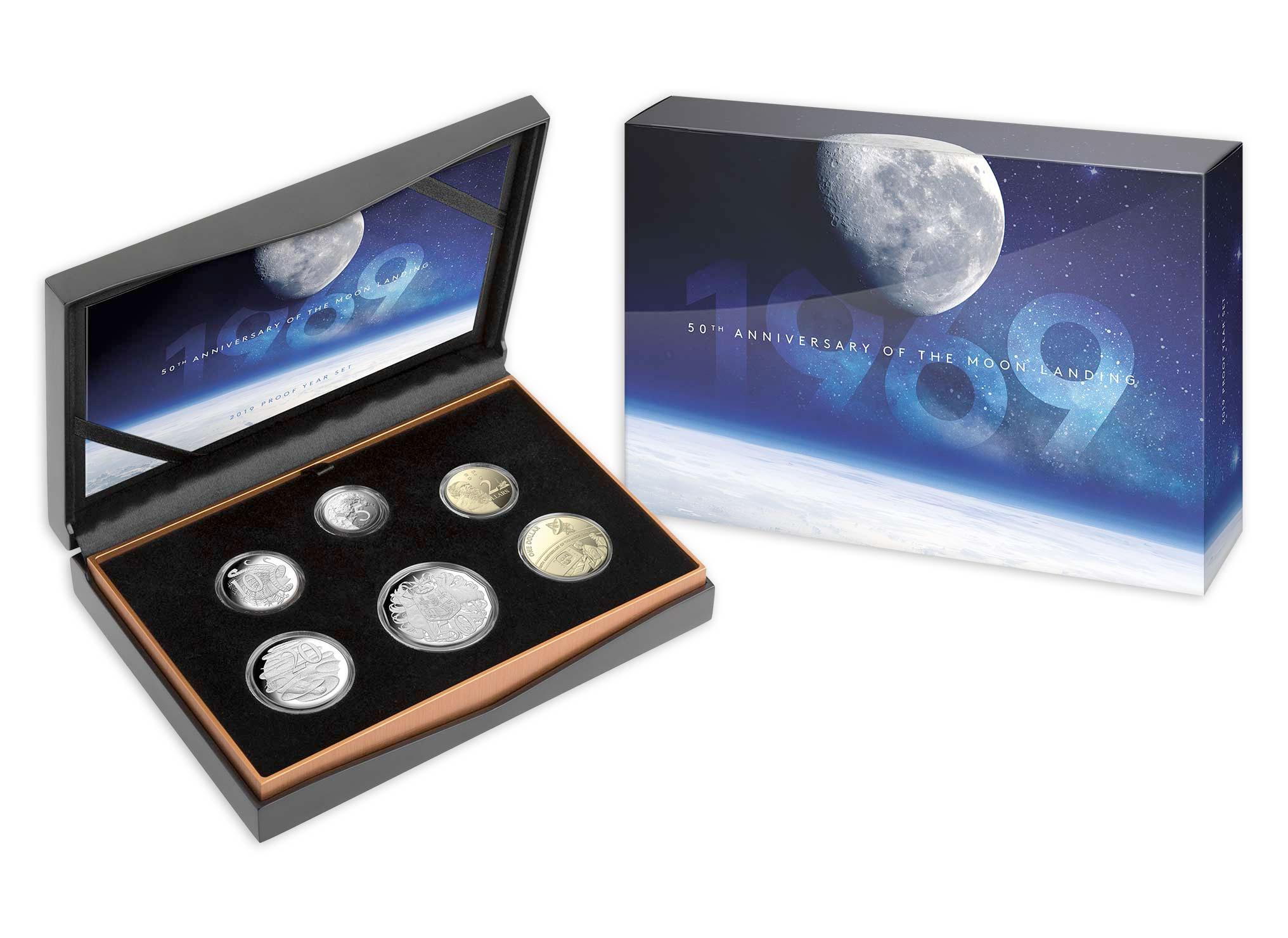 Sydney ANDA Coin Show 2009 Royal Australian Mint Astronomy Six Coin Mint Set