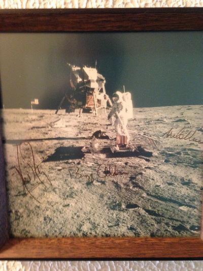 Value Of Signed Apollo 11 Moonwalk Photo Collectspace