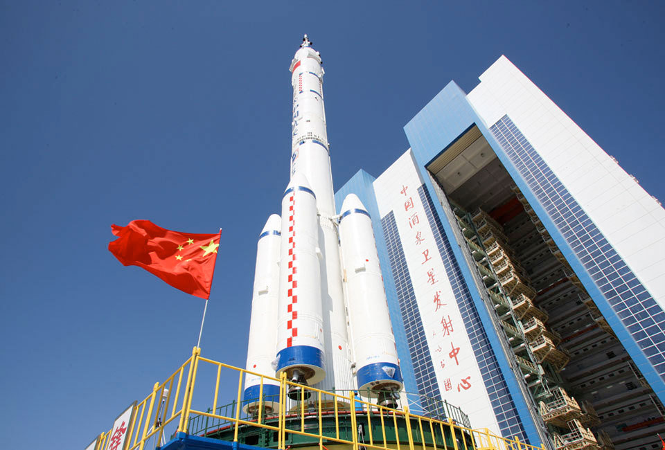 China to launch Shenzhou 9 with three-person crew  including first female  for space docking