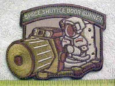space shuttle door gunner tab - photo #11