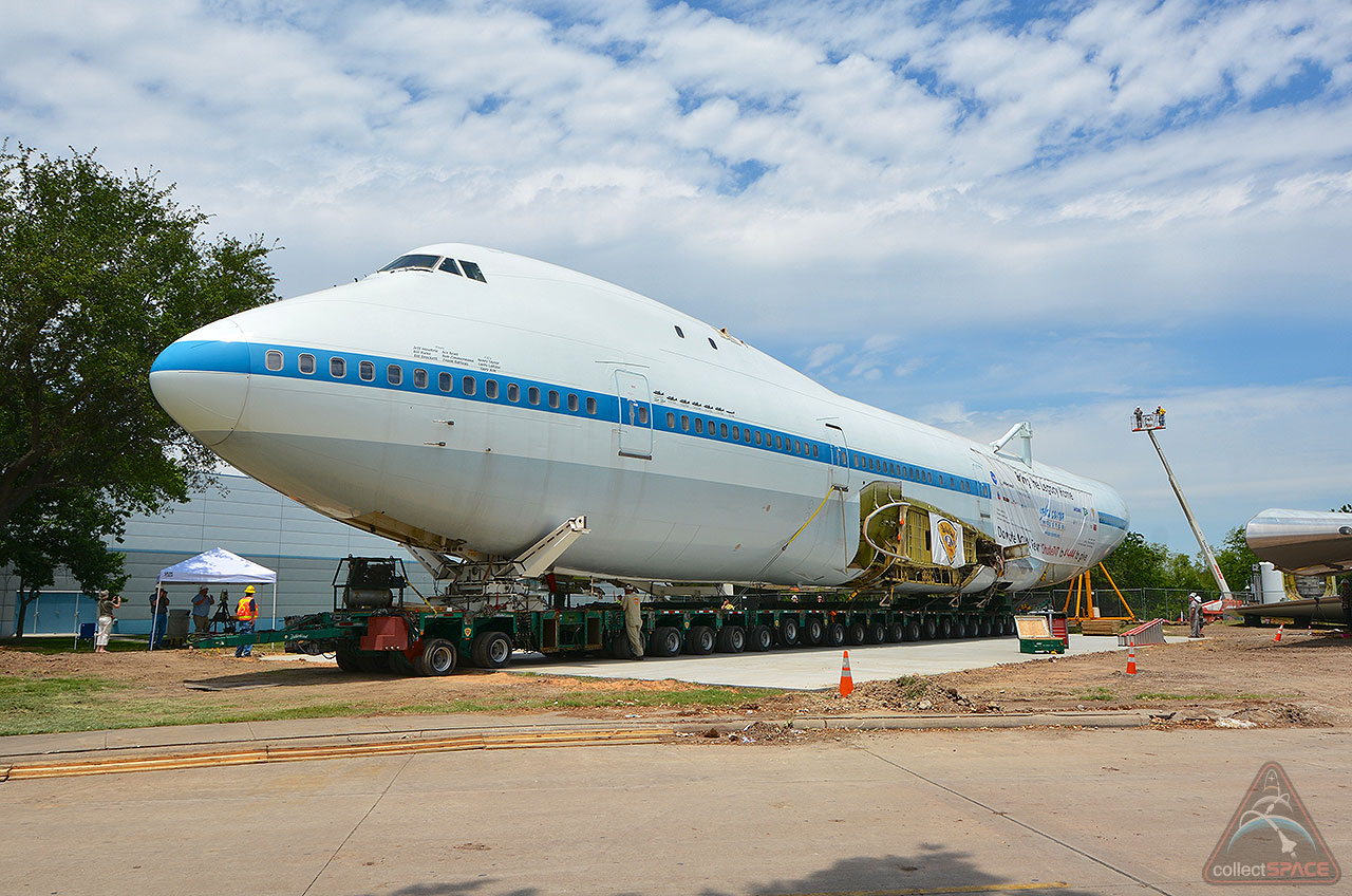 space shuttle carrier 747 american airlines - photo #45