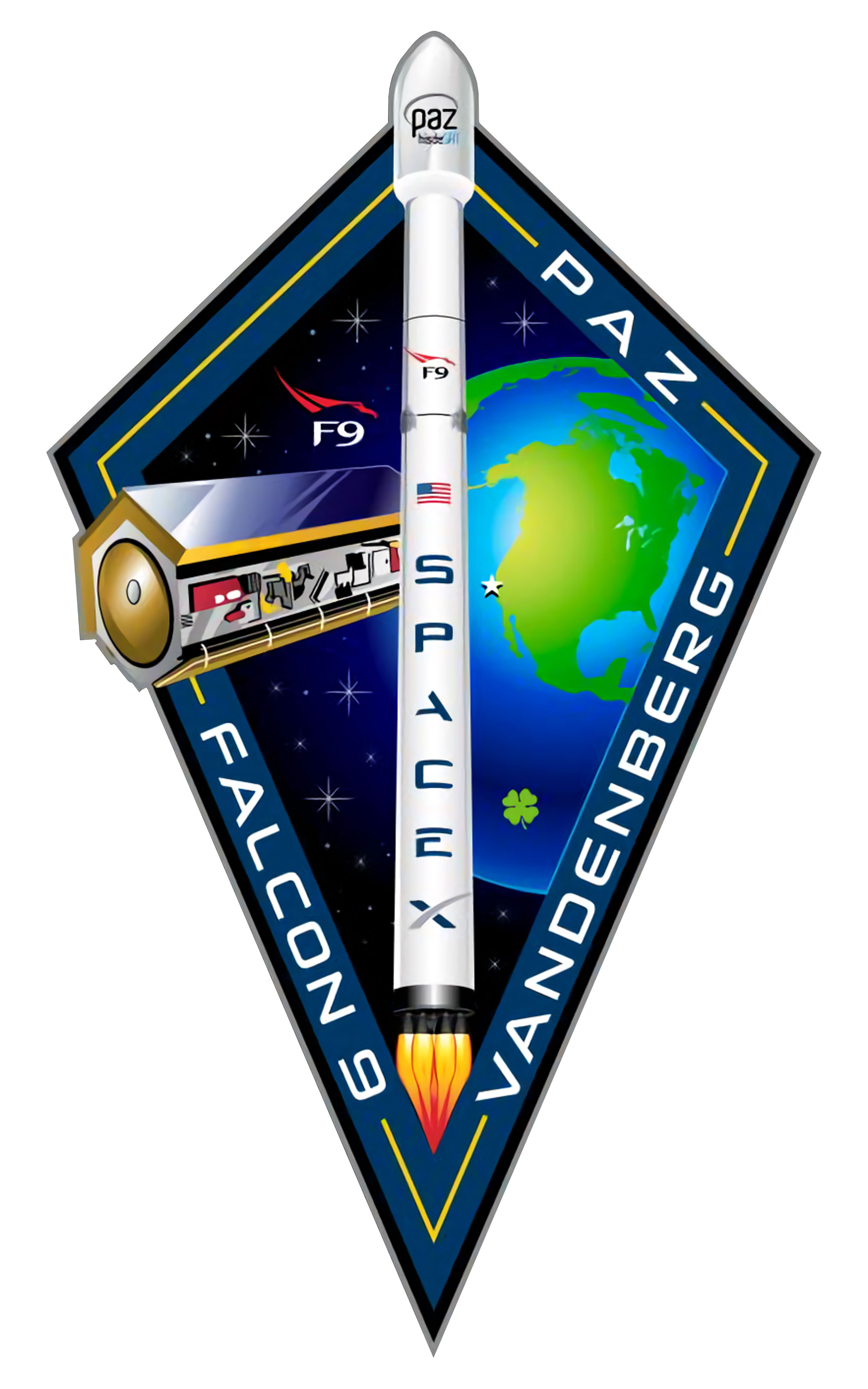 spacex falcon 1 and falcon 9 flight patches collectspace