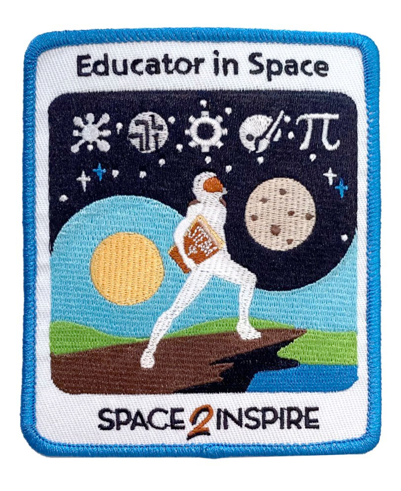 Spacex Inspiration 20 Patch