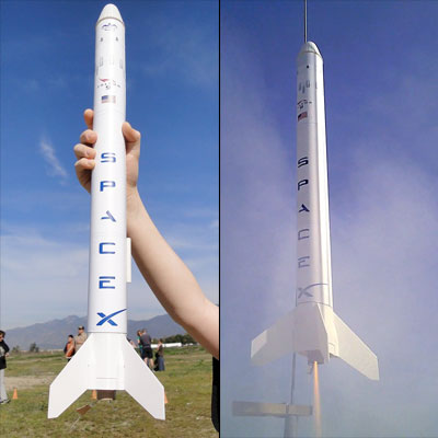 spacex falcon 9 rocket model - photo #32