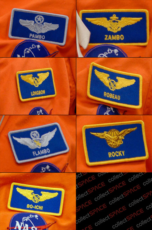 nasa astronauts name tags pics about space. Black Bedroom Furniture Sets. Home Design Ideas