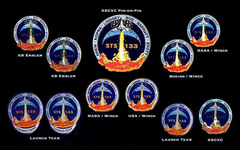 space shuttle mission pin set - photo #20