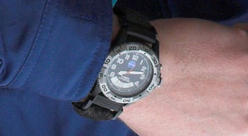 Modern astronaut and cosmonaut watches collectspace messages for Astronaut watches