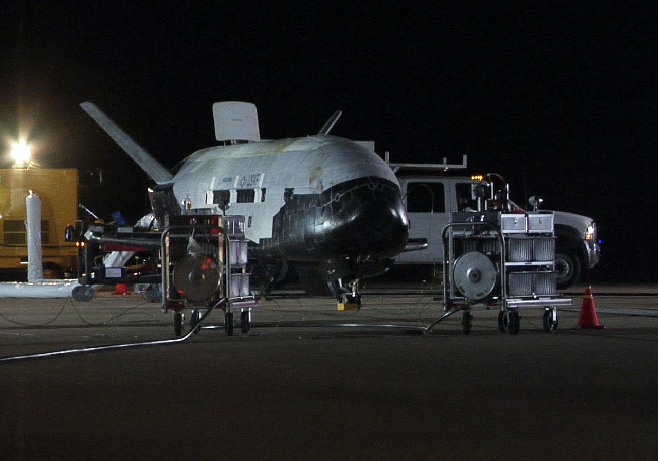 x 37b orbital test vehicle otv orbit The secretive air force x-37b mini-shuttle lands at kennedy space center   force's secretive mini-shuttle, the x-37b, into orbit on a clandestine mission   mission: fifth flight of air force's x-37b orbital test vehicle (otv-5.