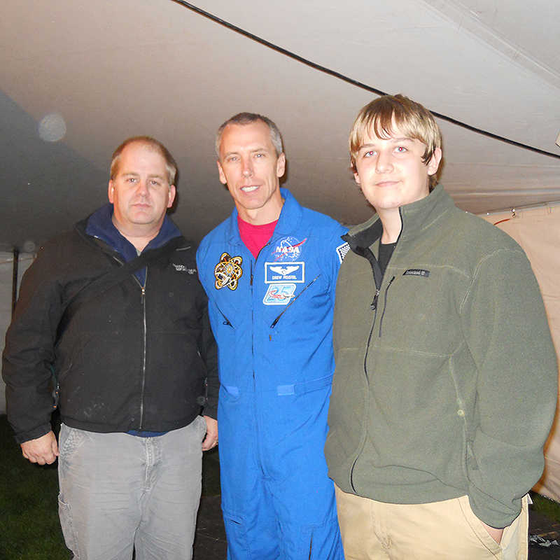 astronaut mark brown